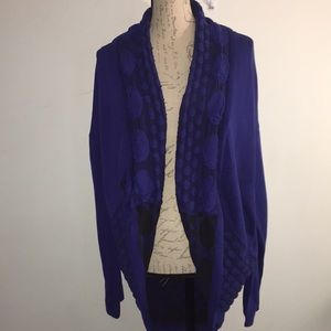NWT Cocoon Cardigan BY Investments Size XL